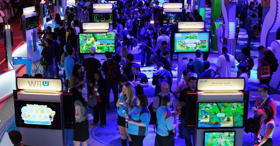 Um dos destaques da Nintendo é