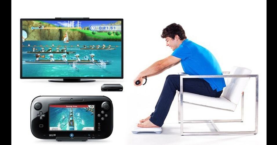 """""""Wii Fit U"""" usará a balance board e o controle em estilo tablet do Wii U"""