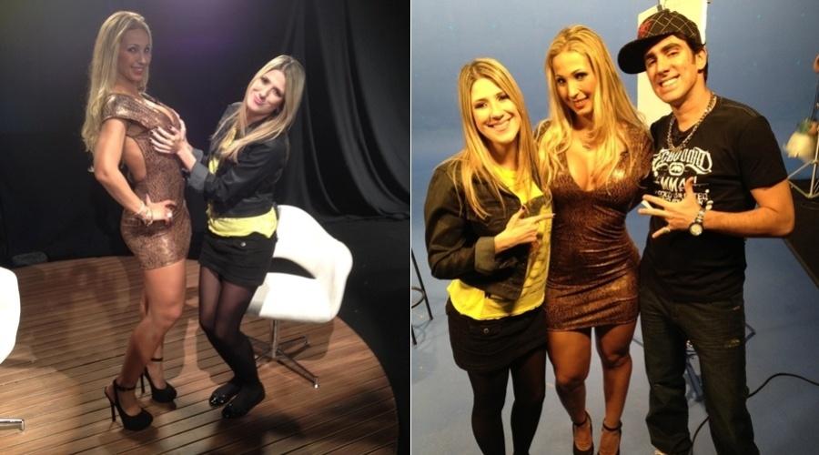 """A funkeira Valesca Popozuda gravou uma participação no programa """"Comédia MTV"""" (7/6/12)"""