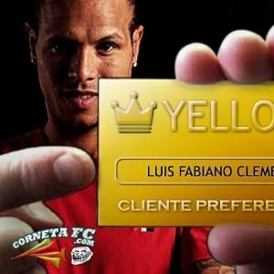 Corneta FC: Luis Fabiano diz que pagará dívida com a torcida, mas no cartão