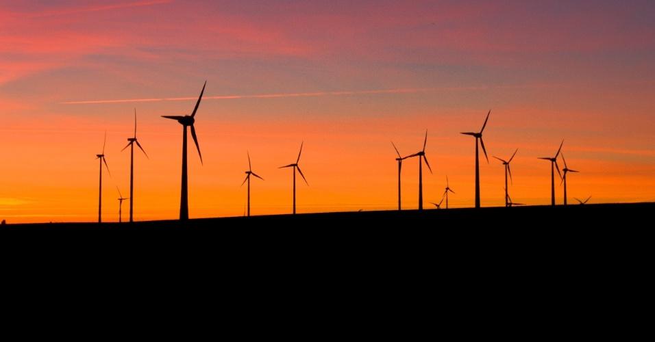 Moinhos de vento / energia eólica na Alemanha