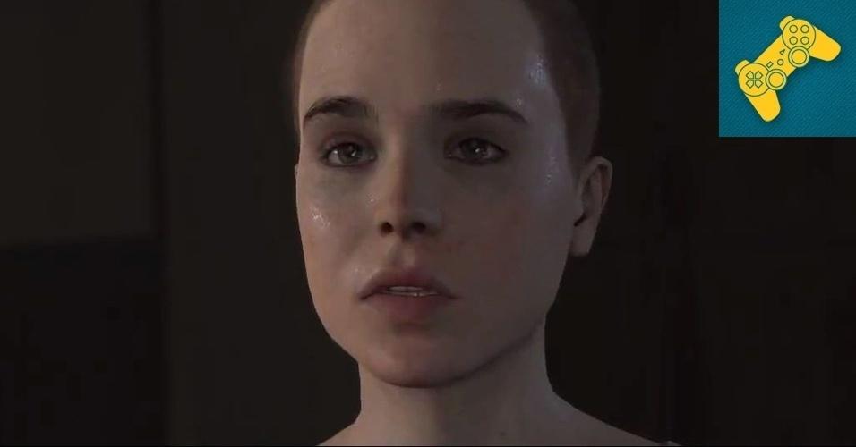 """PLAYSTATION 3 - MENÇÃO HONROSA: """"Beyond"""" promete trazer a mesma tensão narrativa de """"Heavy Rain"""" aliada aos gráficos impressionantes que possibilita que atores como Ellen Page, indicada ao Oscar por """"Juno"""", ganhem vida nos games."""