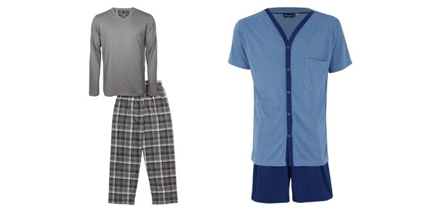 Você pode optar por pijamas compridos ou curtos, lisos ou estampados - Divulgação