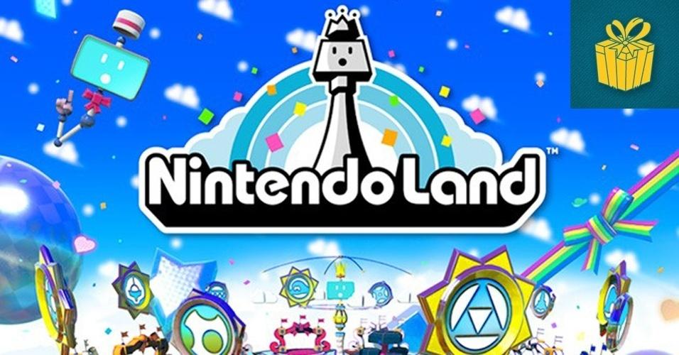 """SURPRESA - MENÇÃO HONROSA: """"Nintendo Land"""" foi uma surpresa no pior dos sentidos durante o final da conferência da Big N. Os fãs, que esperavam algum anúncio bombástico, receberam apenas uma coleção de minigames com personagens da Nintendo."""