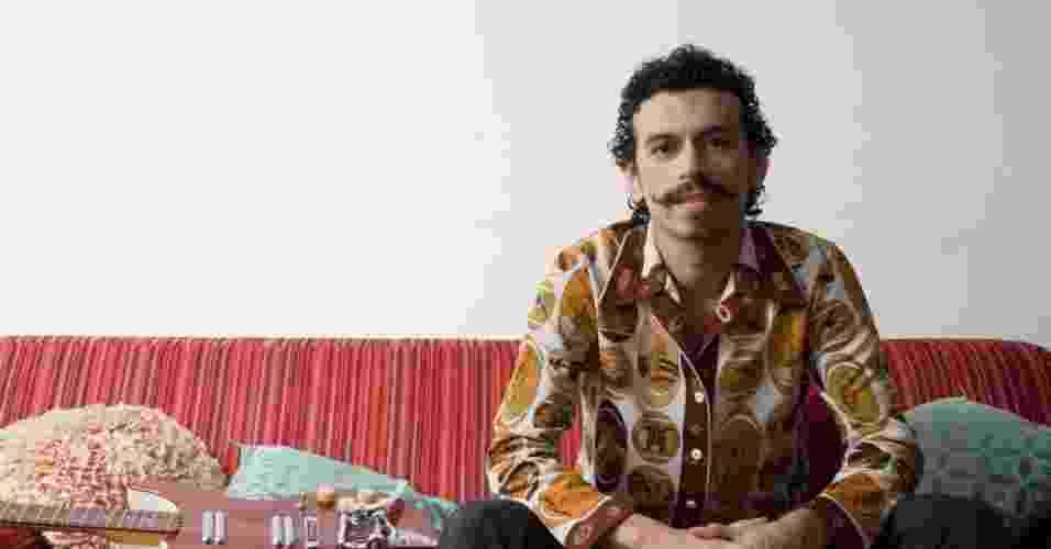 Retrato do musico paraense Felipe Cordeiro - Folhapress
