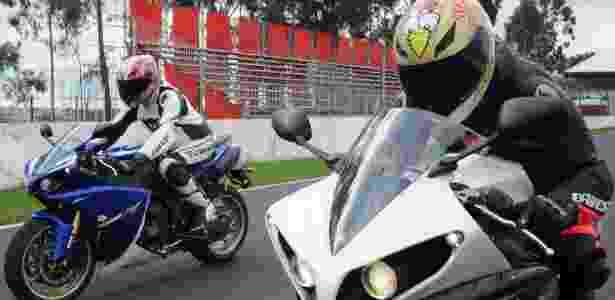 Nova Yamaha R1 está ainda mais ágil, mas também pronta a ajudar iniciantes - Maurício Maranhão/Infomoto