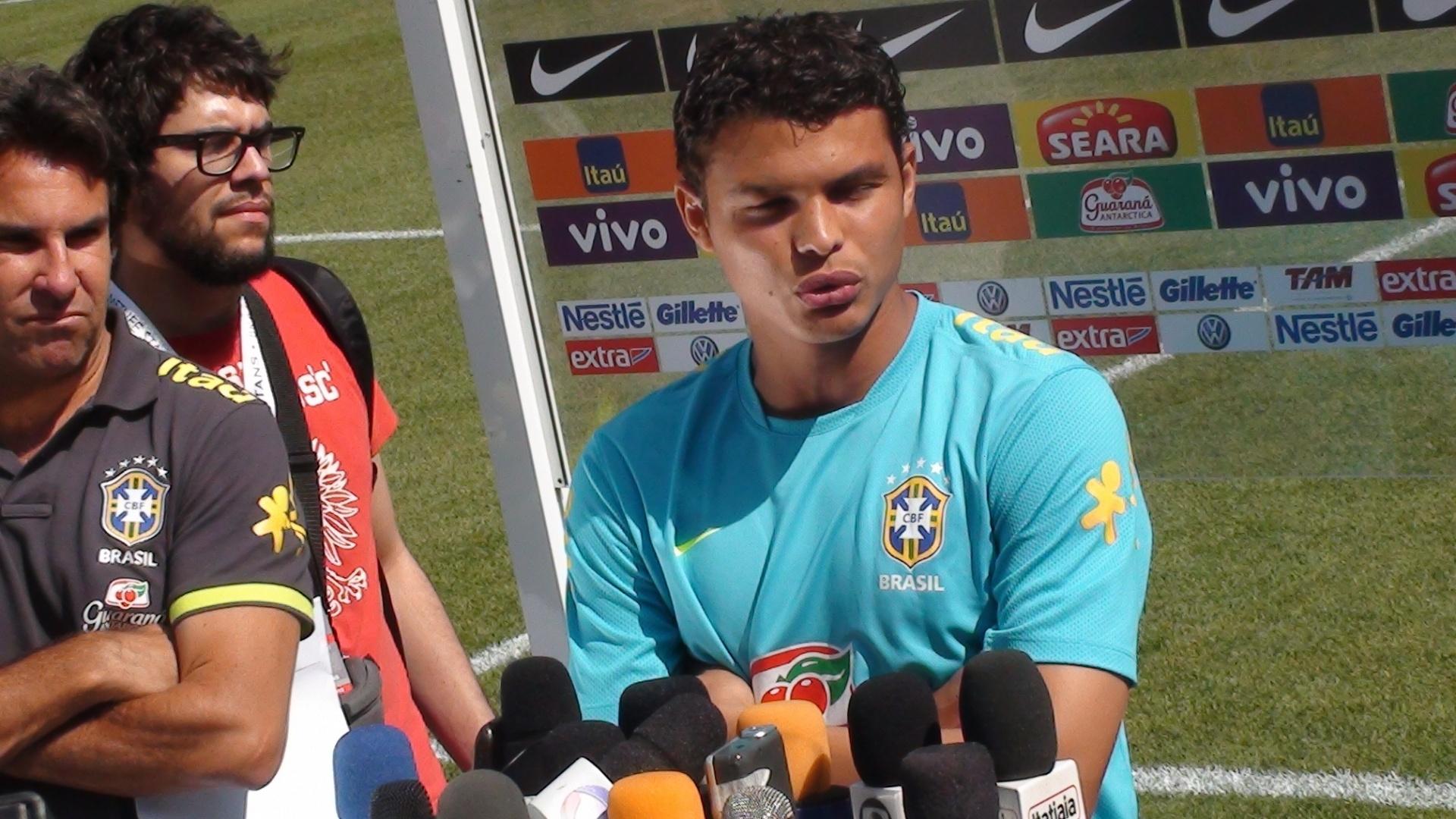Thiago Silva considera difícil participação no amistoso contra a Argentina