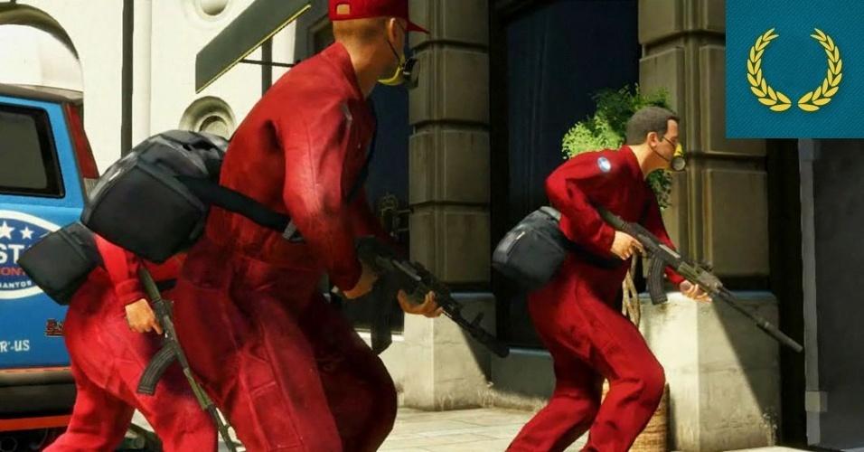 """AUSÊNCIA - VENCEDOR: Um dos mais aguardados jogos da atualidade, """"GTA V"""" passou batido pela E3. A Rockstar não participa diretamente do evento, mas com os rumores do lançamento do jogo ainda este ano não seria nada mal um anúncio como o de """"GTA IV"""" em 2006."""