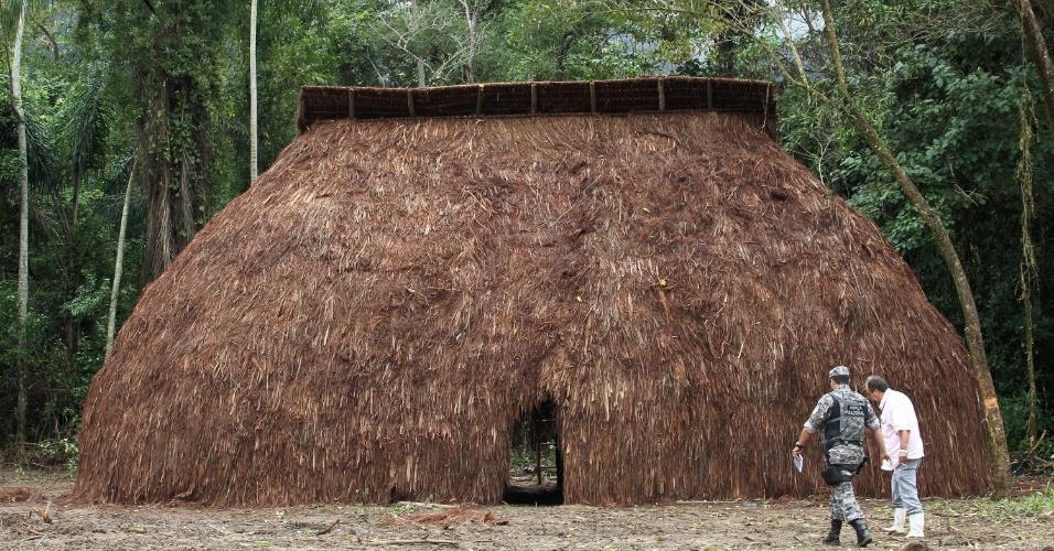 Oca ?Carioca? dentro da Colônia Juliano Moreira, onde vão acontecer as conferências dos Povos Indígenas
