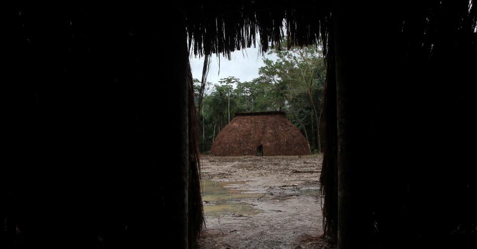 """Oca """"Carioca"""" dentro da Colônia Juliano Moreira, onde vão acontecer as conferências dos Povos Indígenas"""