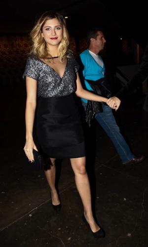 A atriz e modelo Tammy Di Calafiori durante o desfile da Animale na SPFW Verão 2013 (11/6/12)