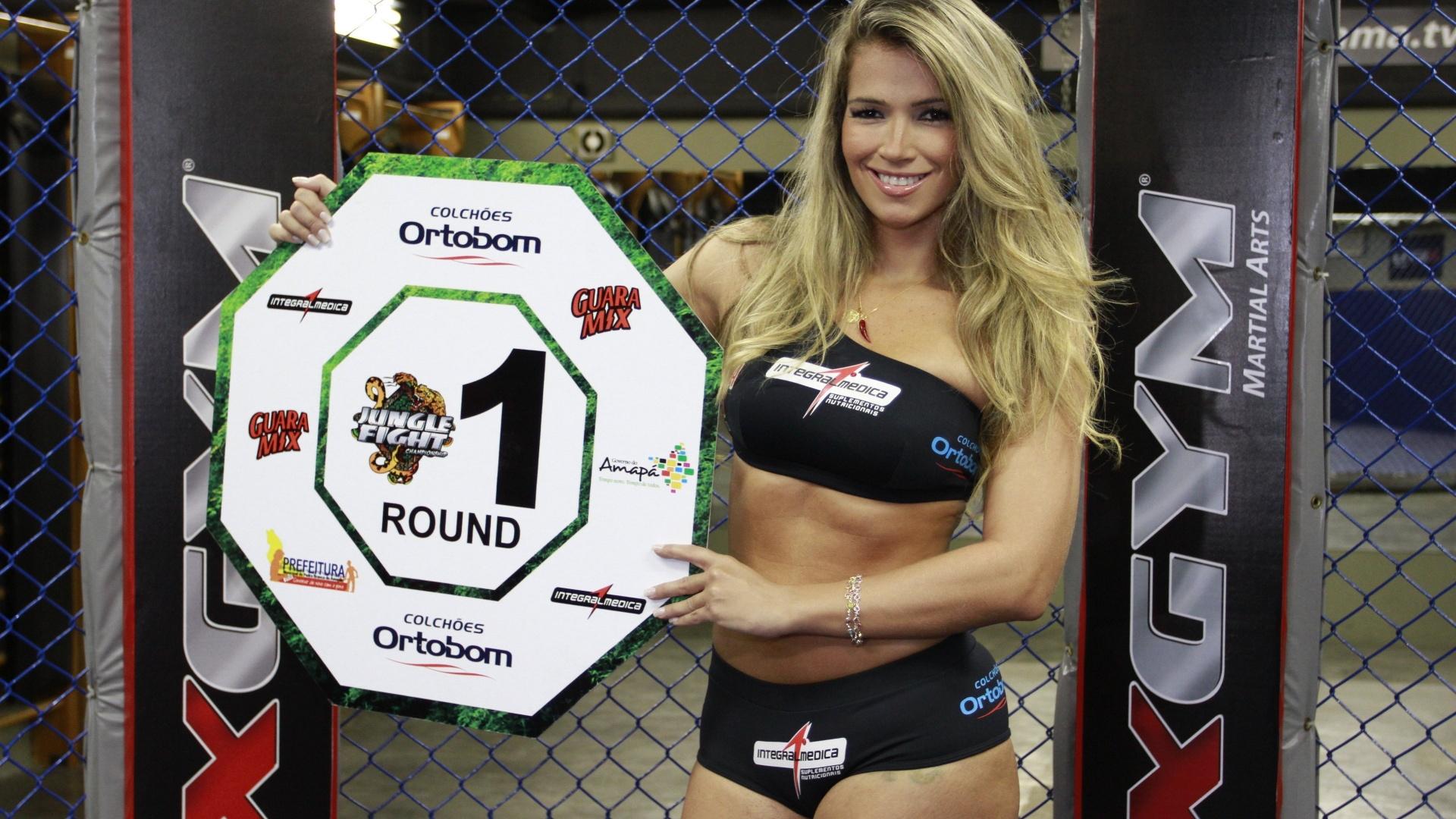 A ex-BBB Fani foi anunciada nesta segunda-feira como ring girl do Jungle Fight; o evento chega à edição de número 40 e mais uma vez aposta em ex-participantes do reality. A disputa será em 15 de junho, no Amapá