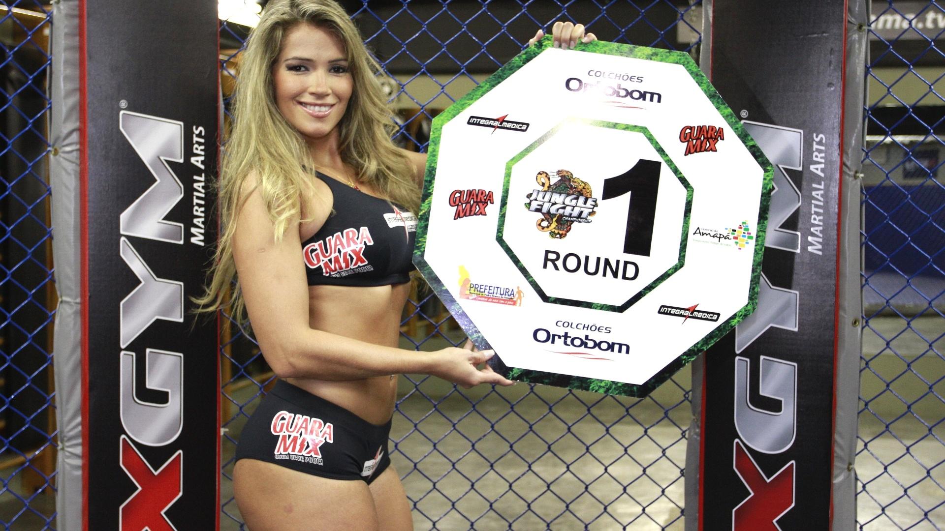 Depois de Adriana Sant'Anna, Jaqueline Faria e Monique Amin, a também ex-BBB Fani Pacheco será ring girl do Jungle Fight, em sua edição de número 40