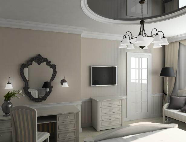 Os espelhos precisam complementar a decoração, escolha molduras que não interfiram na ambientação - Getty Images