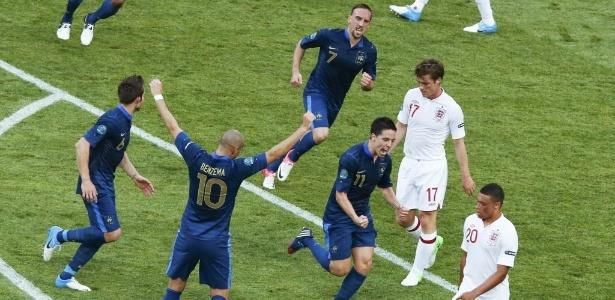 França, de Nasri, e outros favoritos ainda não garantiram a vaga nas quartas de final