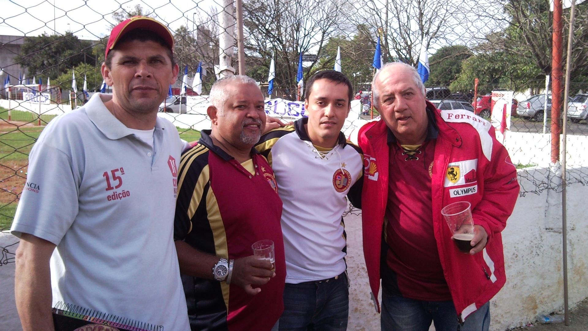 Piau (Jorlando Moreira), Ivanildo da Silva, Lúcio Antônio Sena e Valdir Bezerra (Boca)