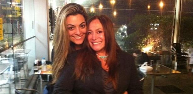 Susana Vieira divulga foto ao lado da ex-BBB Monique Amin (10/6/2012)