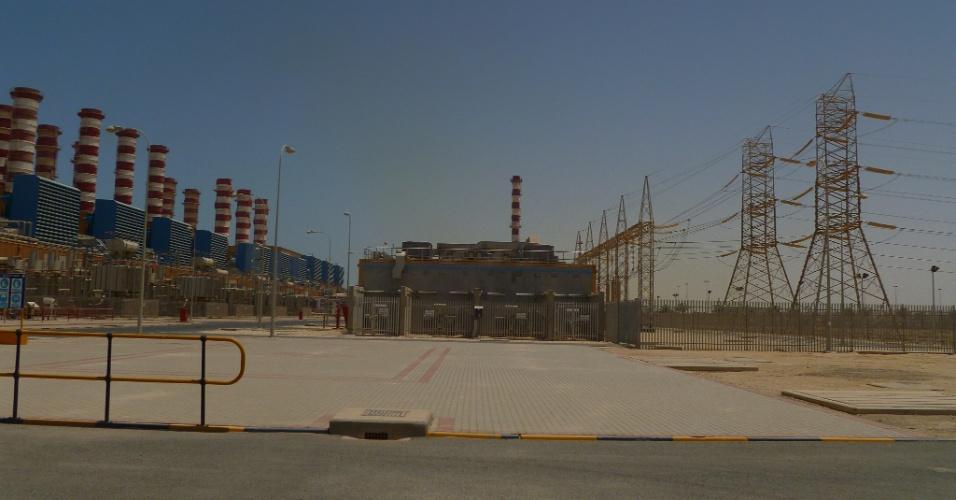 Usina de dessalinização de água e energia produz 75% da demanda do país