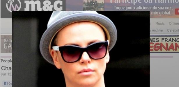 Charlize Theron circula pelas ruas de Beverly Hills com os cabelos raspados (12/6/12)