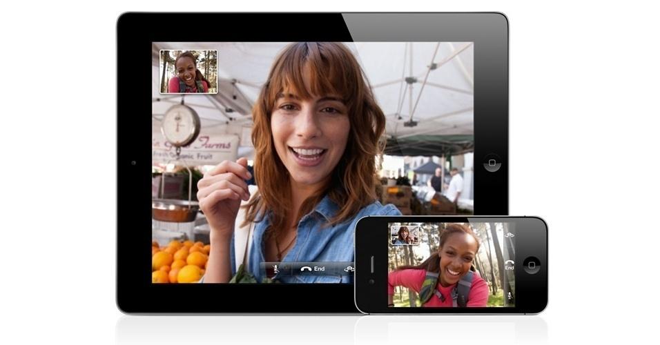 Recursos do iOS 6 - Facetime