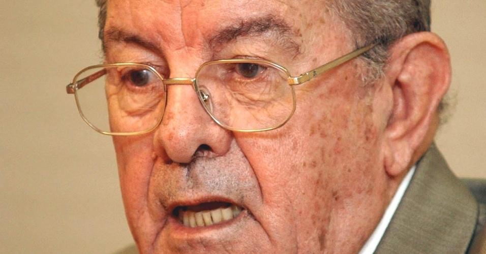 Jarbas Passarinho, militar e político da Arena, nascido no Acre, em Xapuri