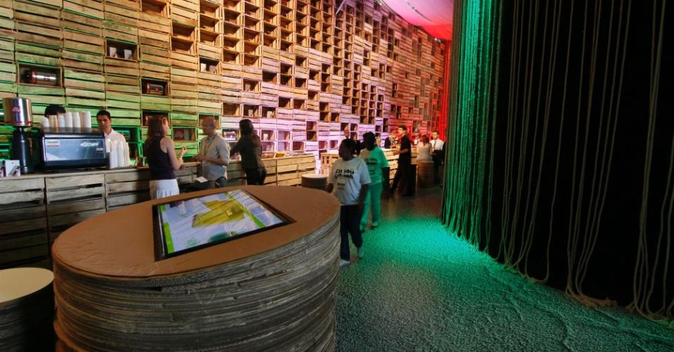 12.jun.2012 - O Parque dos Atletas é palco para exibição de experiências bem-sucedidas em matéria de desenvolvimento sustentável