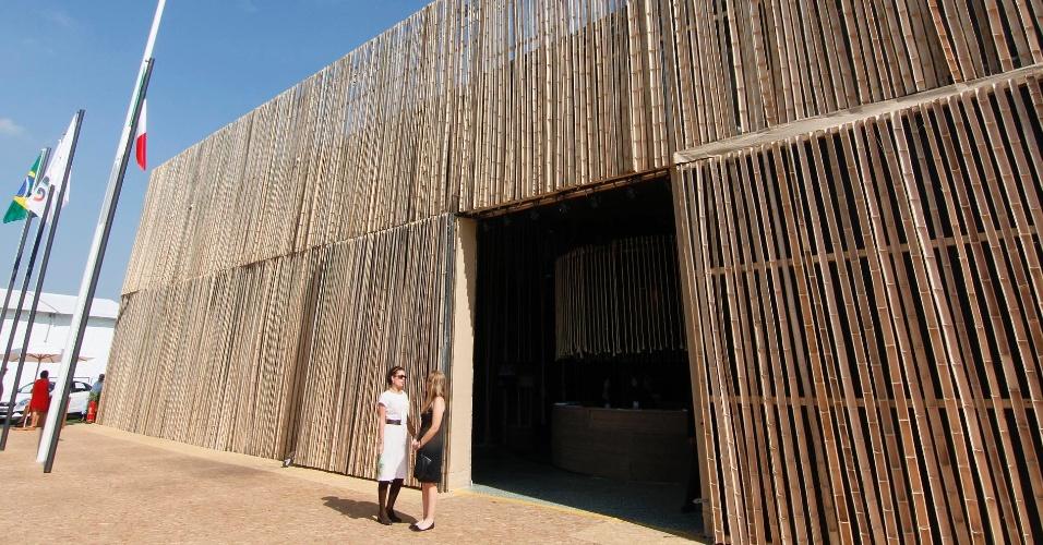 14.jun.2012 - Localizado em frente ao Riocentro, onde ocorre a Rio+20, o Parque dos Atletas não está atraindo o público esperado