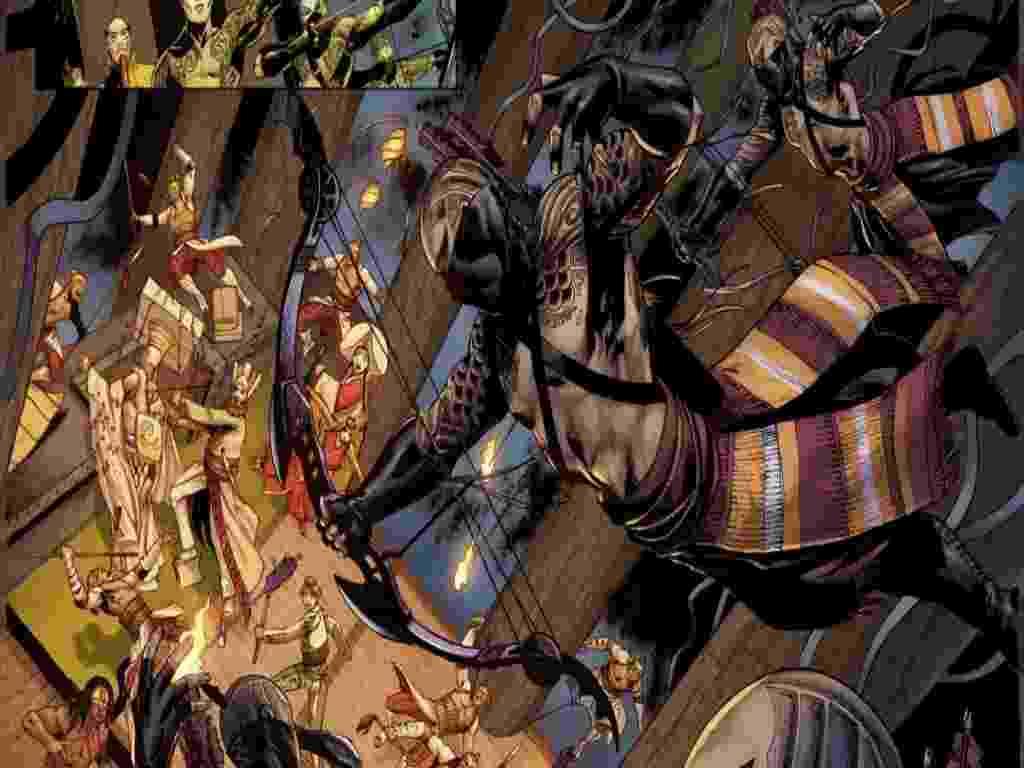 A Marvel anunciou nesta quinta-feira (14) que lançará uma HQ baseada em um espetáculo do grupo Cirque Du Soleil na Comic-Con, evento de cultura pop que acontece em San Diego, em julho  - Reprodução/HuffingtonPost