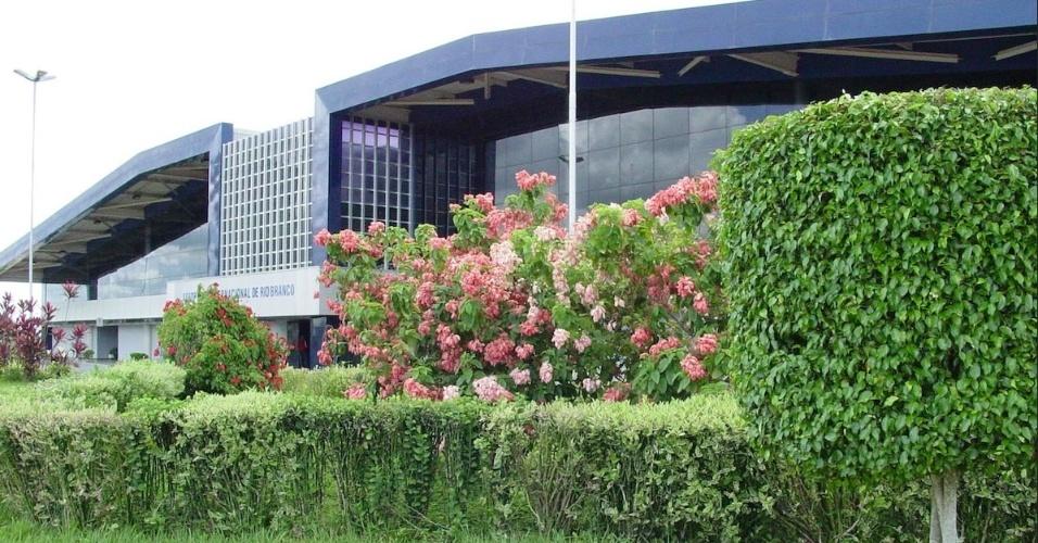 Aeroporto Internacional Plácido de Castro, em Rio Branco (AC)