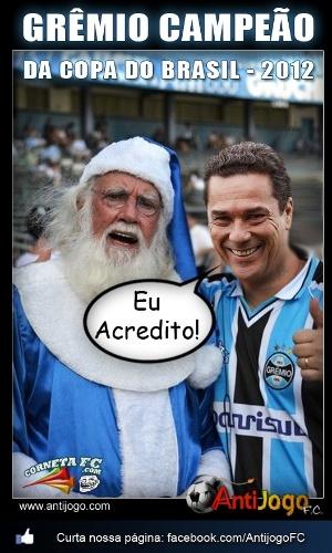 Corneta FC: Apostar no título do Grêmio é como acreditar em Papai Noel