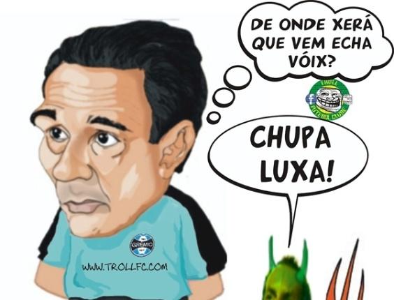 Corneta FC: Luxa leva cornetada deselegante de Edmundo: