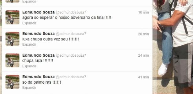 Edmundo não se conteve com a vitória do Palmeiras e provocou Luxemburgo