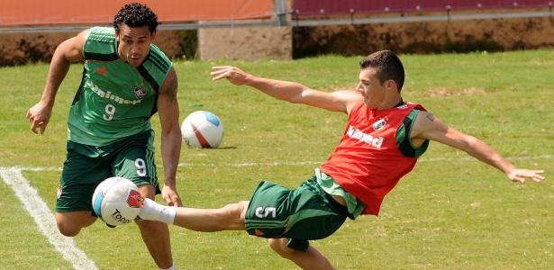 Fred e Wagner atuaram juntos na base do América, no Cruzeiro e agora jogam no Flu