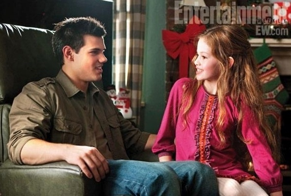 Jacob e Renesmee