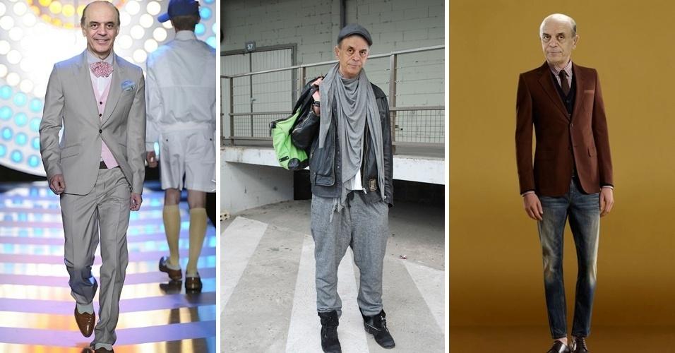 O Tumblr Serra inova no guarda-roupa mostra montagens feitas com o pré-candidato do PSDB à Prefeitura de São Paulo, José Serra