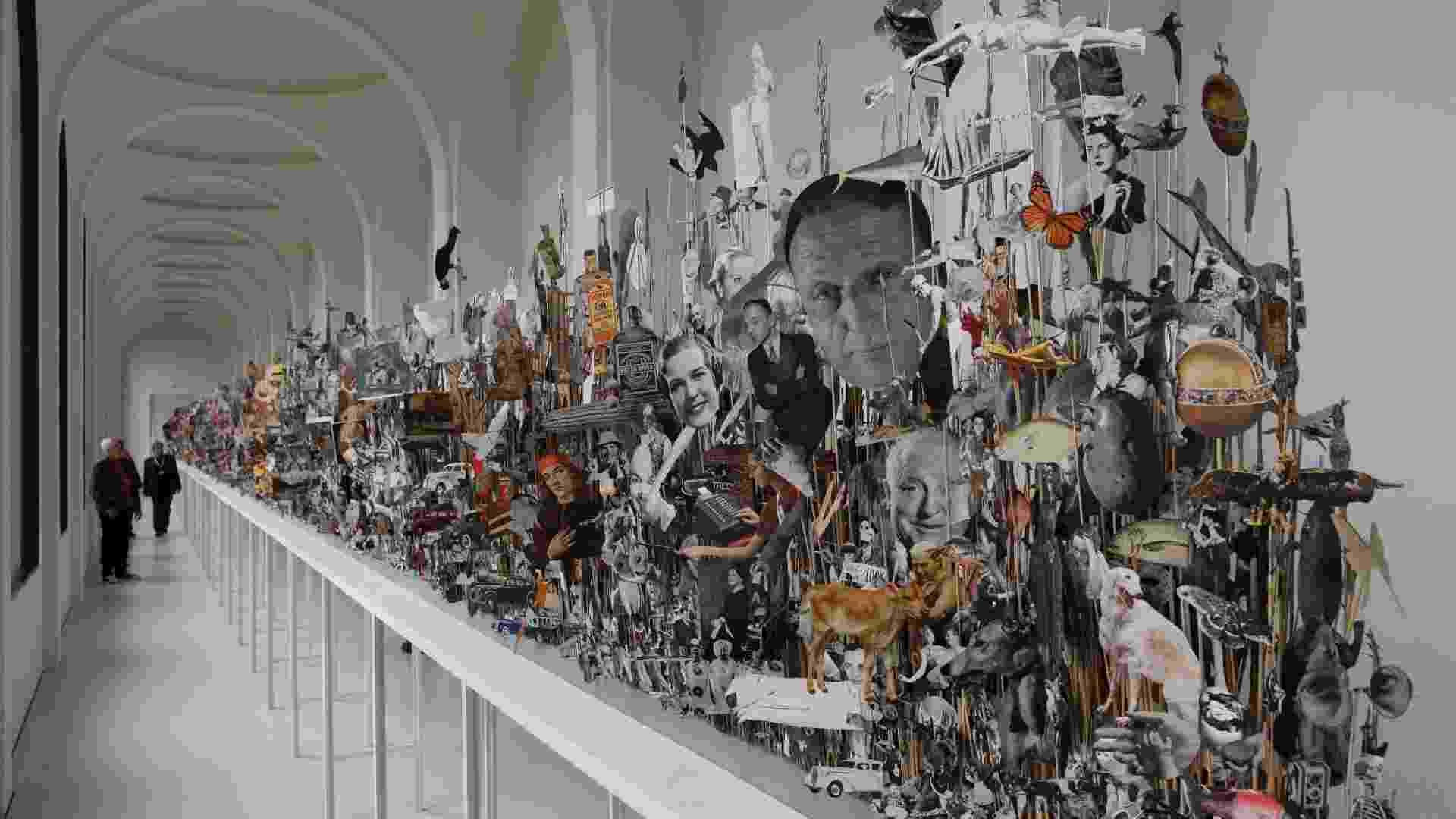 Obras expostas na 13ª edição da Documenta de Kassel (Alemanha), mostra de arte que acontece a cada cinco anos desde 1995 e espera receber até um milhão de visitantes - REUTERS/Ralph Orlowski