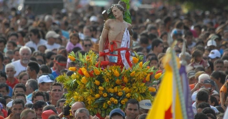 Procissão de São Sebastião, em Xapuri (AC)