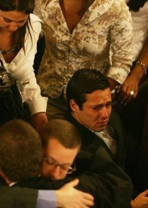 Promotor Thales Ferri Schoedl, em 2008, quando foi absolvido por unanimidade da acusação de assassinato de Diogo Mendes e de outro rapaz, ocorrido em 2004