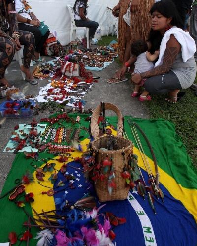 abertura da Cúpula dos Povos, evento paralelo à Rio+20, Conferência da ONU sobre Desenvolvimento Sustentável