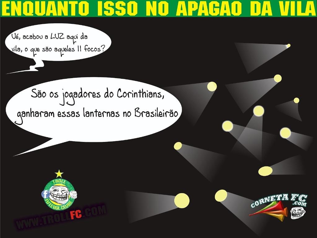Corneta FC: Apagão na Vila
