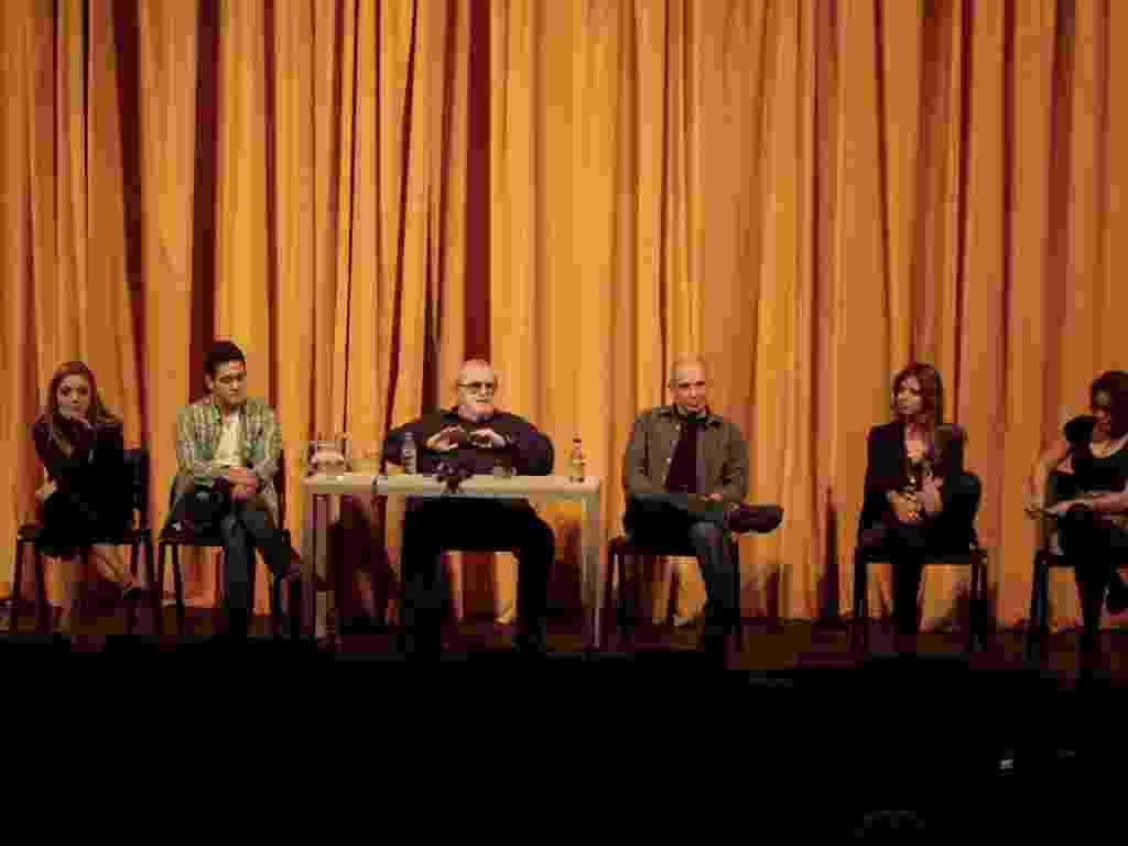 """Evento para imprensa reúne elenco e direção do espetáculo """"Atreva-se"""" no Teatro das Artes, em São Paulo (15/6/12) - Marcos Ribas/ Photo Rio News"""