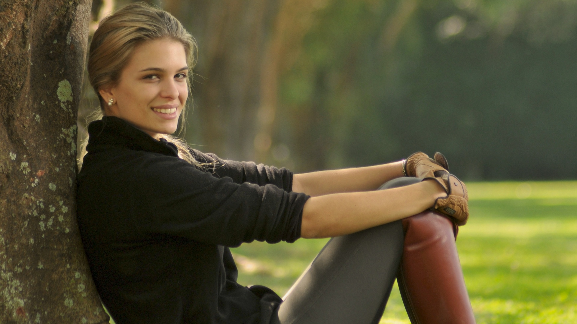 Luiza Almeida, atleta brasileira de hipismo (21/05/2012)