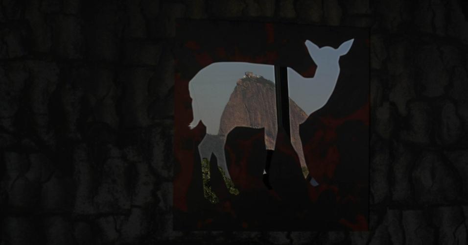 """16.jun.2012 - """"Brasil Cerrado"""" é uma instalação do artista Siron Franco que também faz parte da Cúpula dos Povos, um dos maiores eventos paralelos da Rio+20. Exposta no Museu de Arte Moderna (MAM), a entrada na mostra é gratuita"""