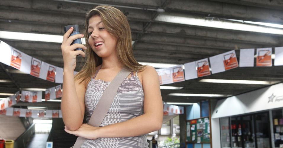 Bruna Theodoro, 18, que quer ser pediatra, achou a prova razoável