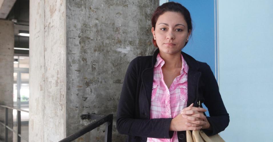 Lorraine Andrade, 19, tenta uma vaga no curso de jornalismo da Uerj (Universidade do Estado do Rio de Janeiro)