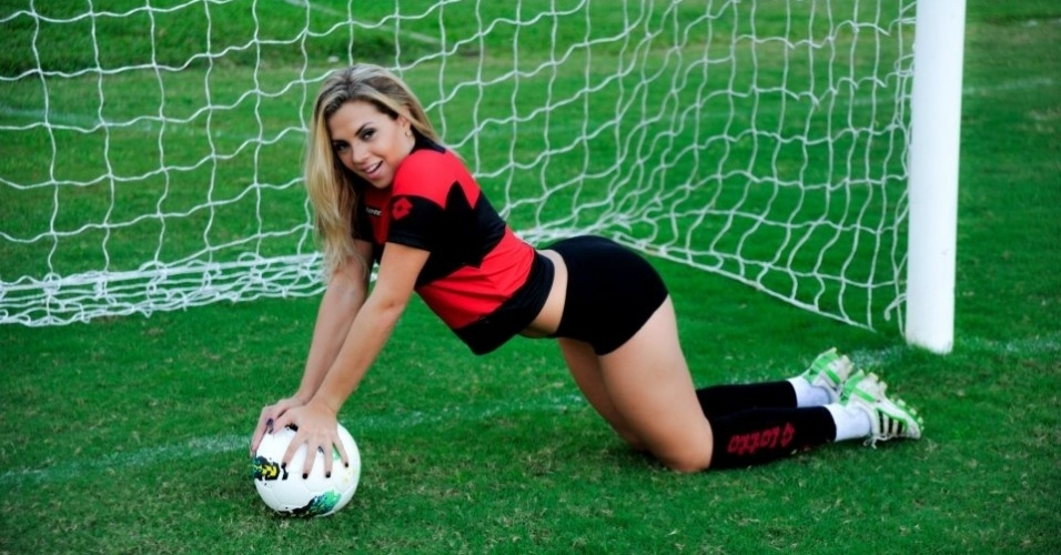 Marianna Rosas venceu as concorrentes e agora vai enfrentar as musas de clubes rivais na 2ª fase do Belas da Torcida