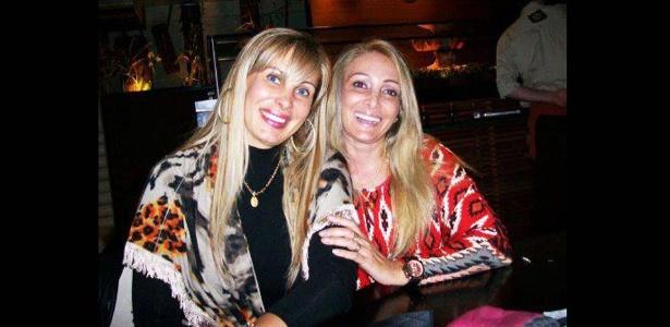 Ângela Bismarchi e Angelina Filgueiras dos Santos em foto divulgada no Facebook