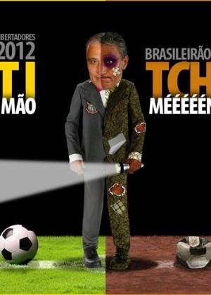Corinthians em 2012 tem duas caras: uma no Brasileirão e outra na Libertadores