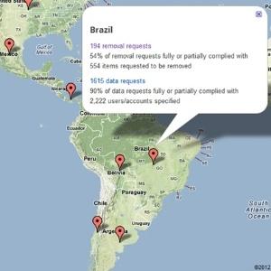 Foram 194 pedidos de remoção de conteúdo feitos por meio do governo brasileiro, dos quais 54% deles foram atendidos pelo Google