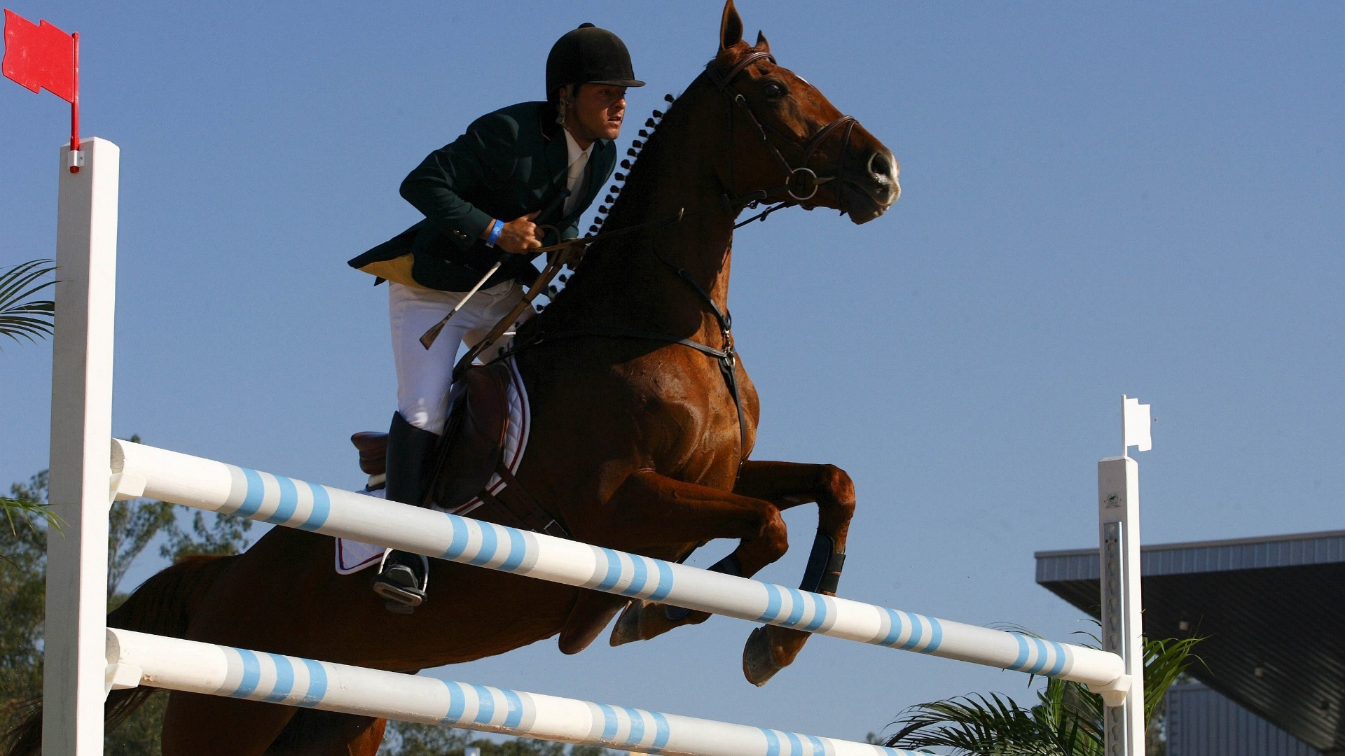 Renan Guerreiro participa de prova do CCE durante os Jogos Pan-Americanos do Rio-2007